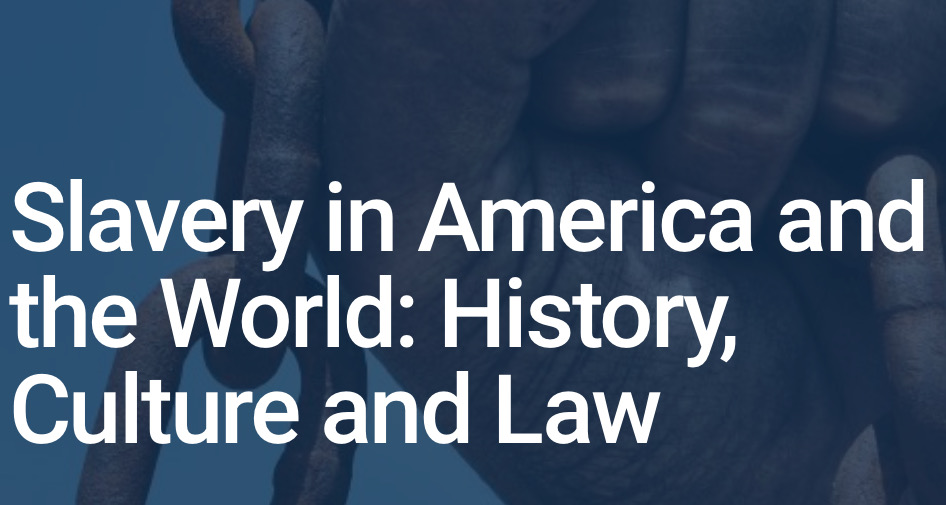 HeinOnline Slavery in America and the World: History, Culture, & Law