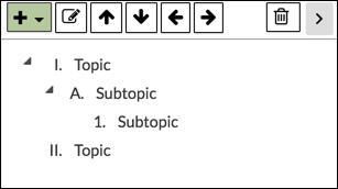 Subtopics - NoodleTools