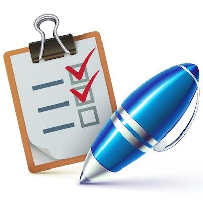Checklist on a clipboard - Britannica ImageQuest