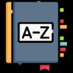 Dictionary, by Freepik, on Flaticon.com