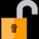 Unlock, by Freepik, on Flaticon