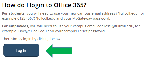 screenshot Office 365 login