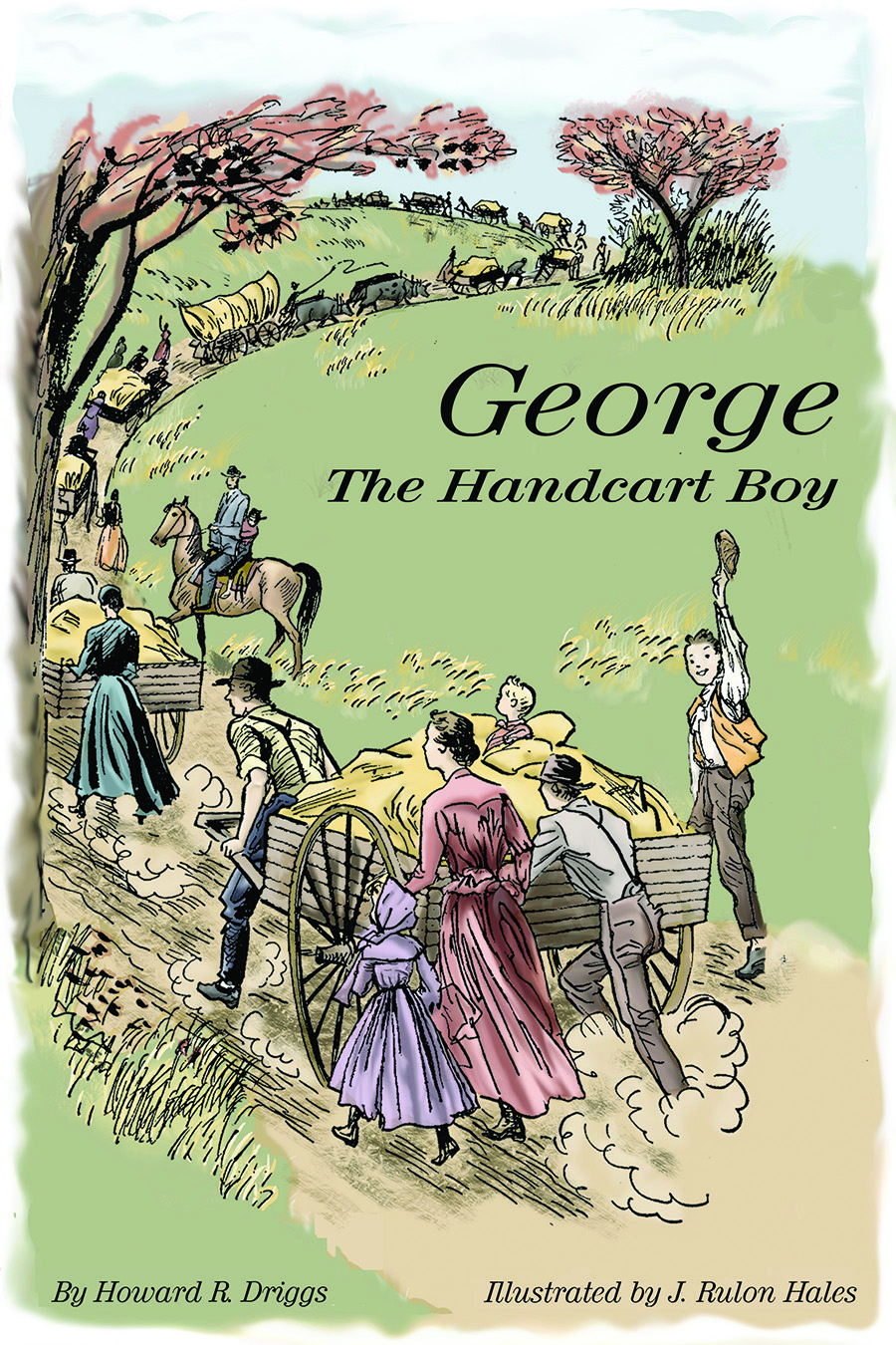 George the Handcart Boy book cover