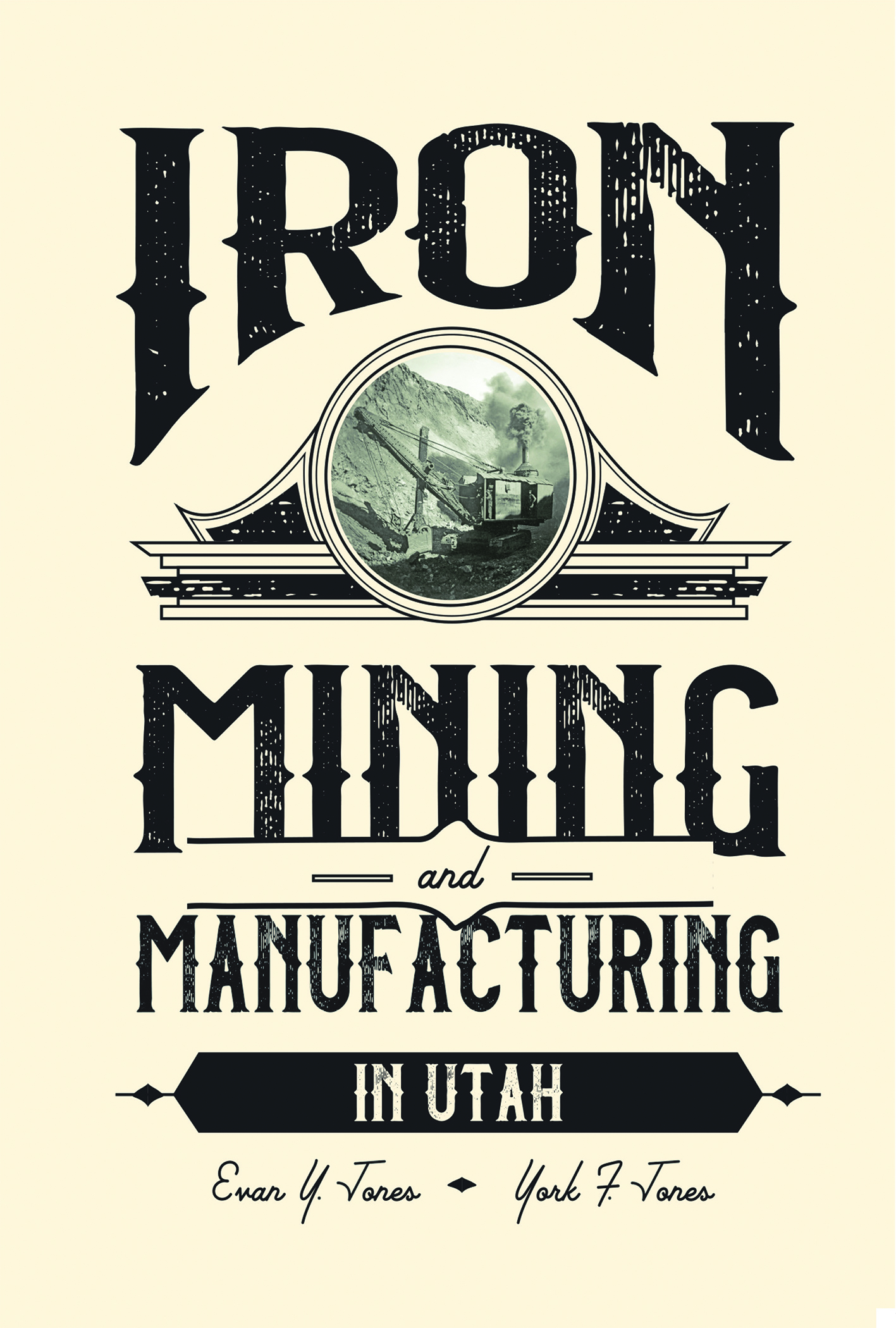 Iron Mining and Manufacturing book cover
