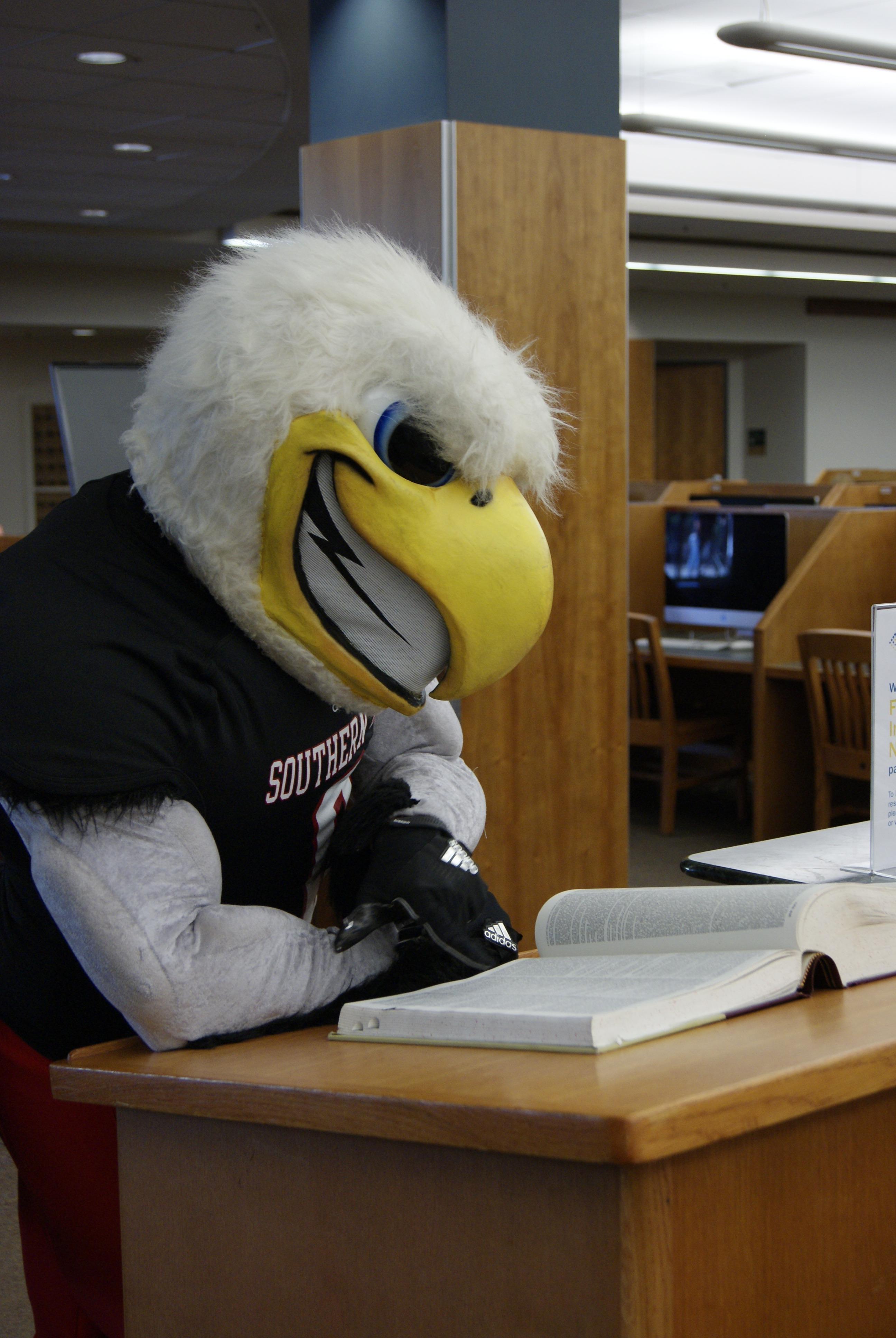 Thor at the Sherratt Library