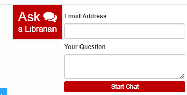 Ask a Librarian Chat Box