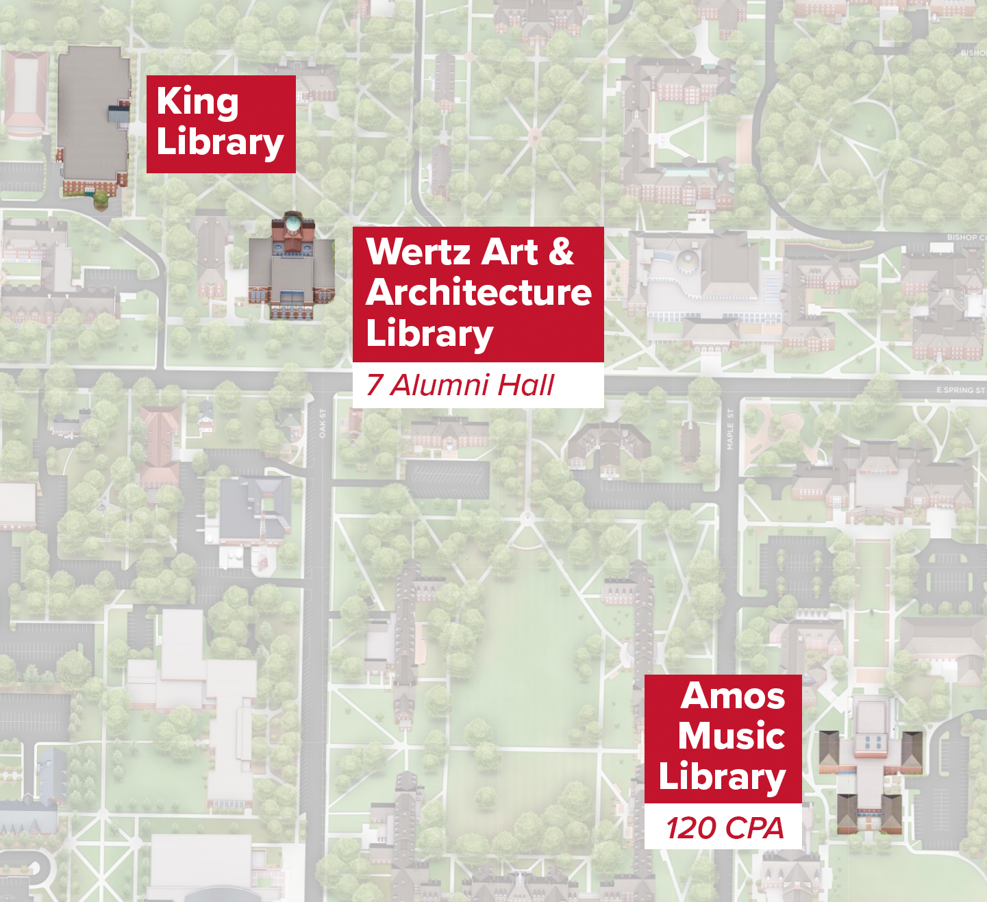 2020-21 Oxford Campus Library Locations