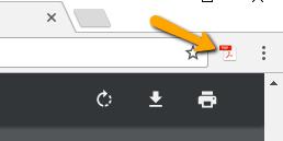 Chrome extension icon