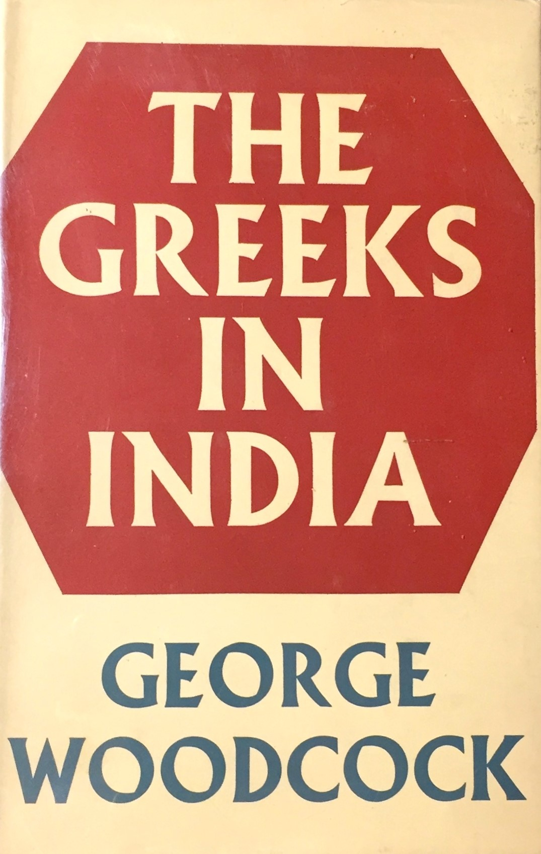 Woodcock Greeks in India cover art