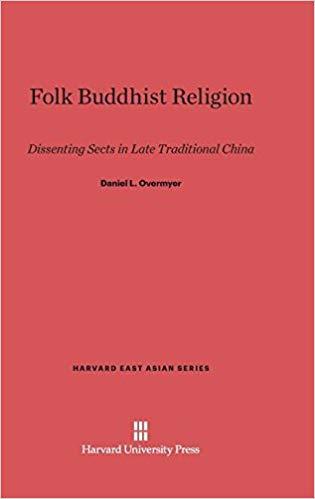 Overmyer Folk Buddhist cover art