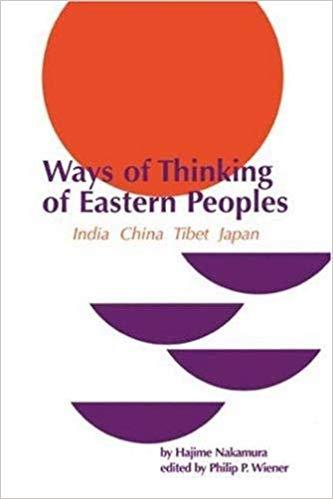 Nakamura Ways of Thinking cover art