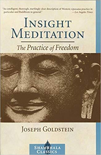 Goldstein Insight Meditation cover art