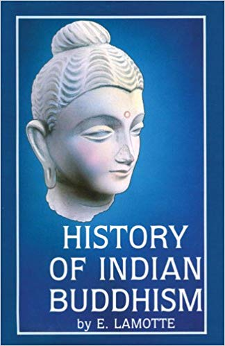 Lamotte History of Indian Buddhism cover art