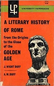 Duff Lit History Rome Golden Age cover