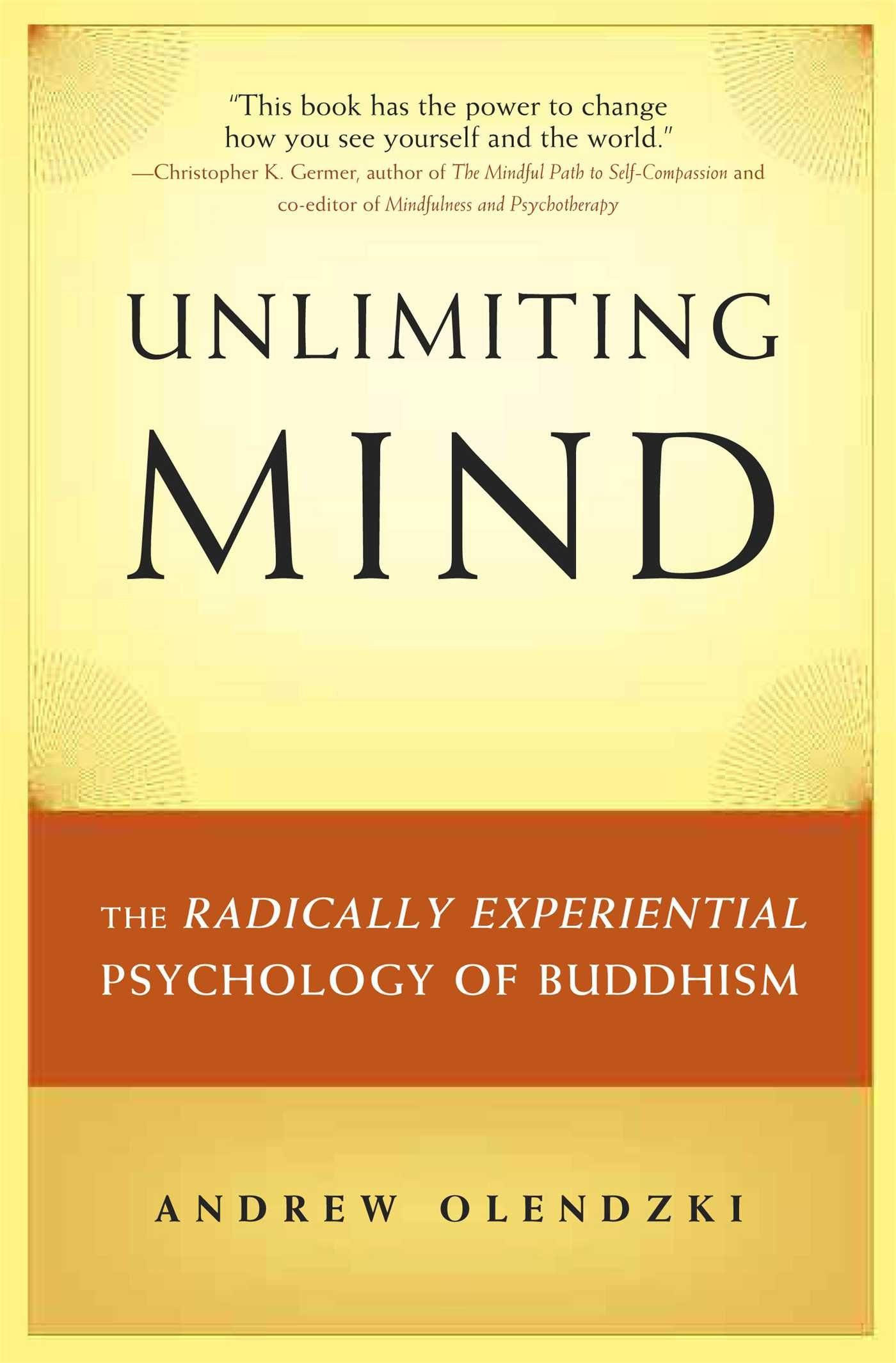 Olendzki Unlimiting Mind cover art