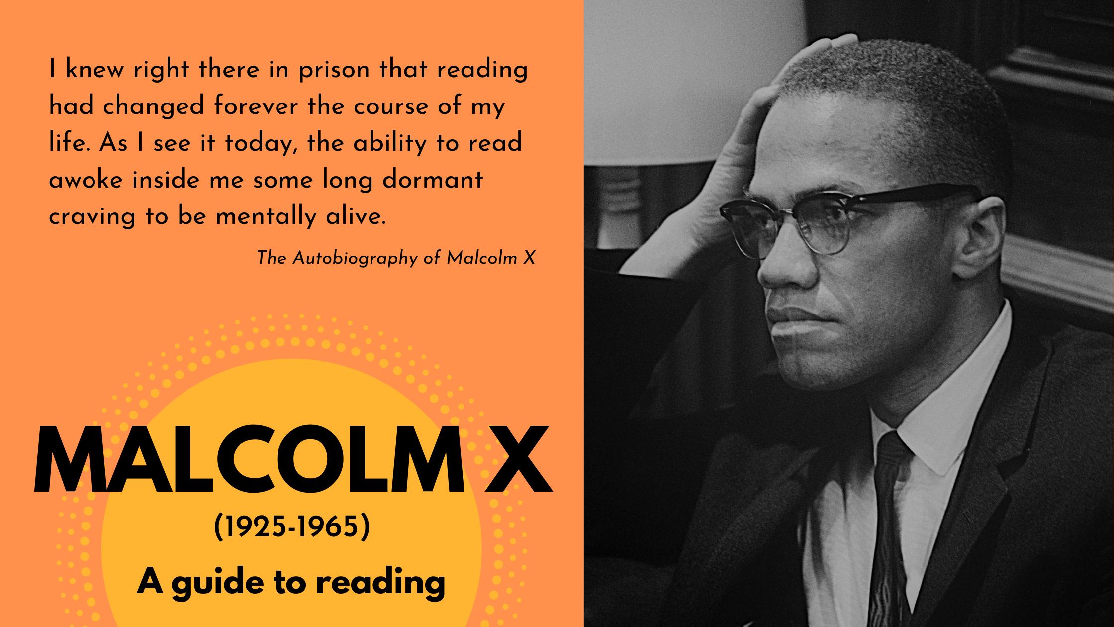 Malcolm X guide splash image