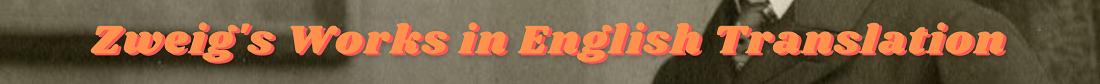Zweig's works banner