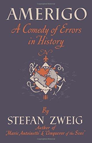 Zweig Amerigo cover art