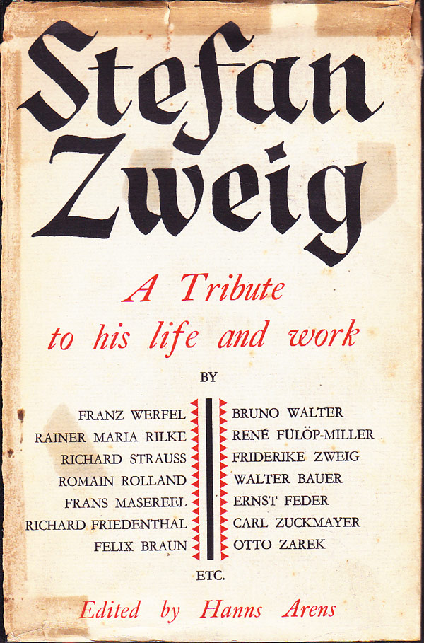 Arens Zweig Tribute cover art