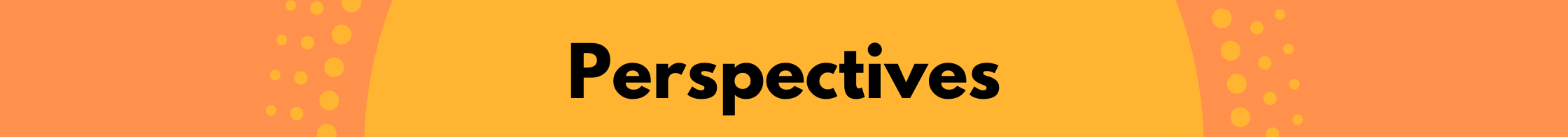 Perspectives banner
