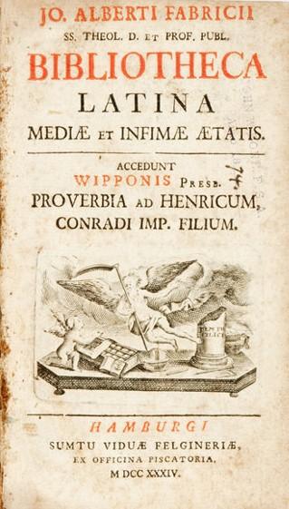 Fabricius Latina cover