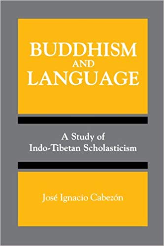 Cabezón Buddhism and Language cover art