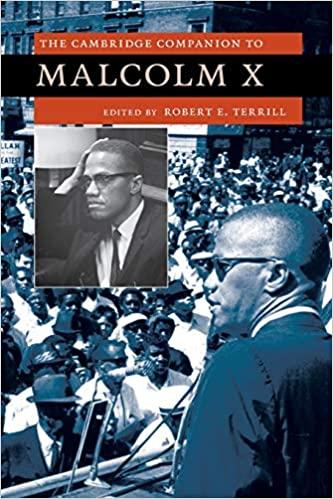 Terrill Cambridge Companion Malcolm X cover art