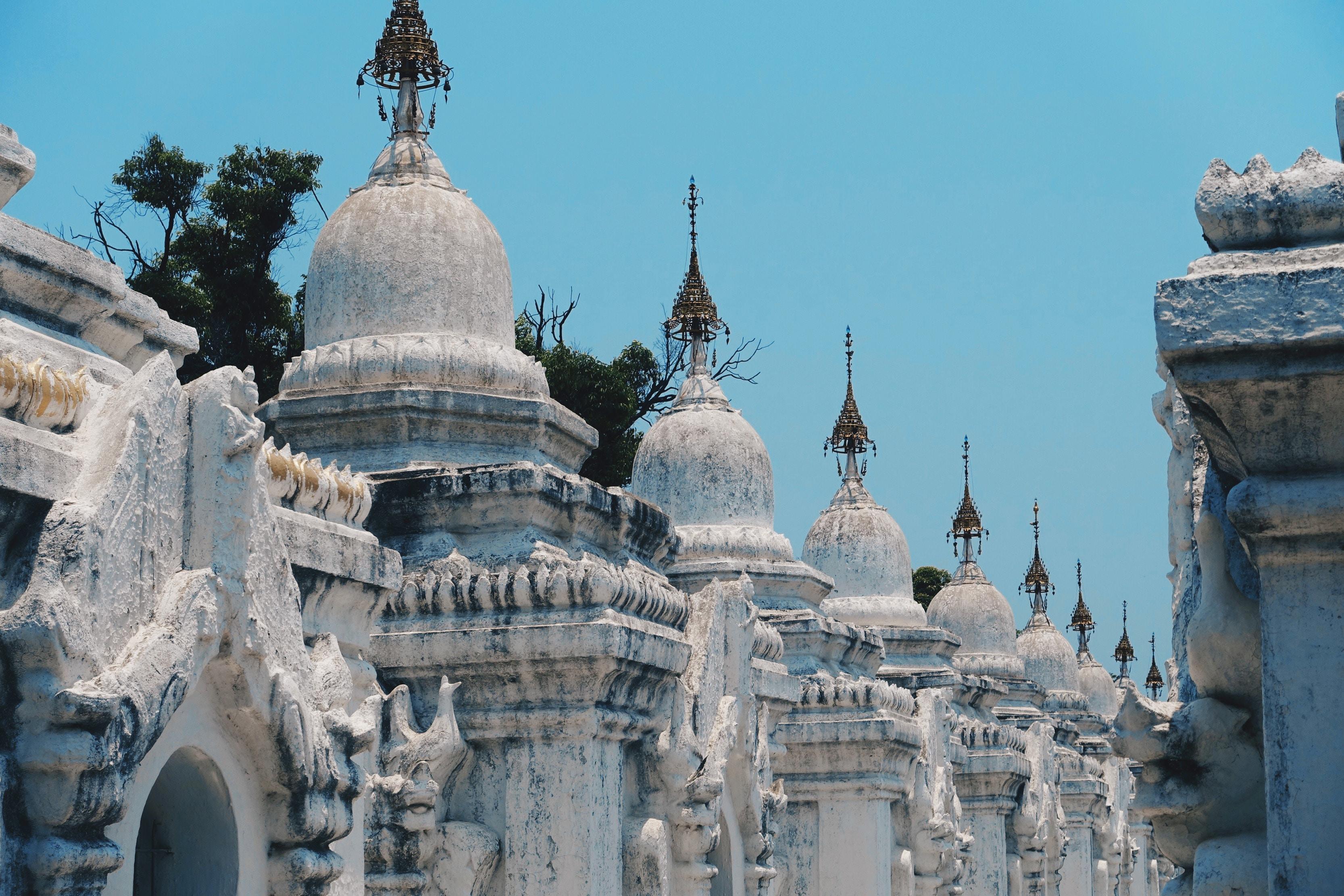 Stupas Kuthodaw Pagoda