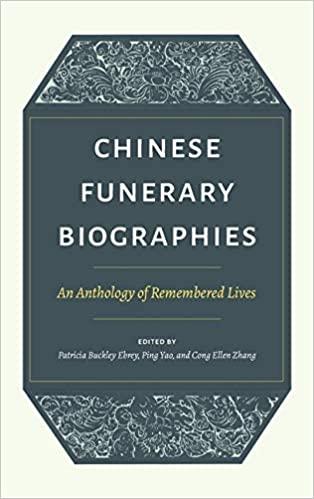 Ebrey et al Funerary Biographies cover art