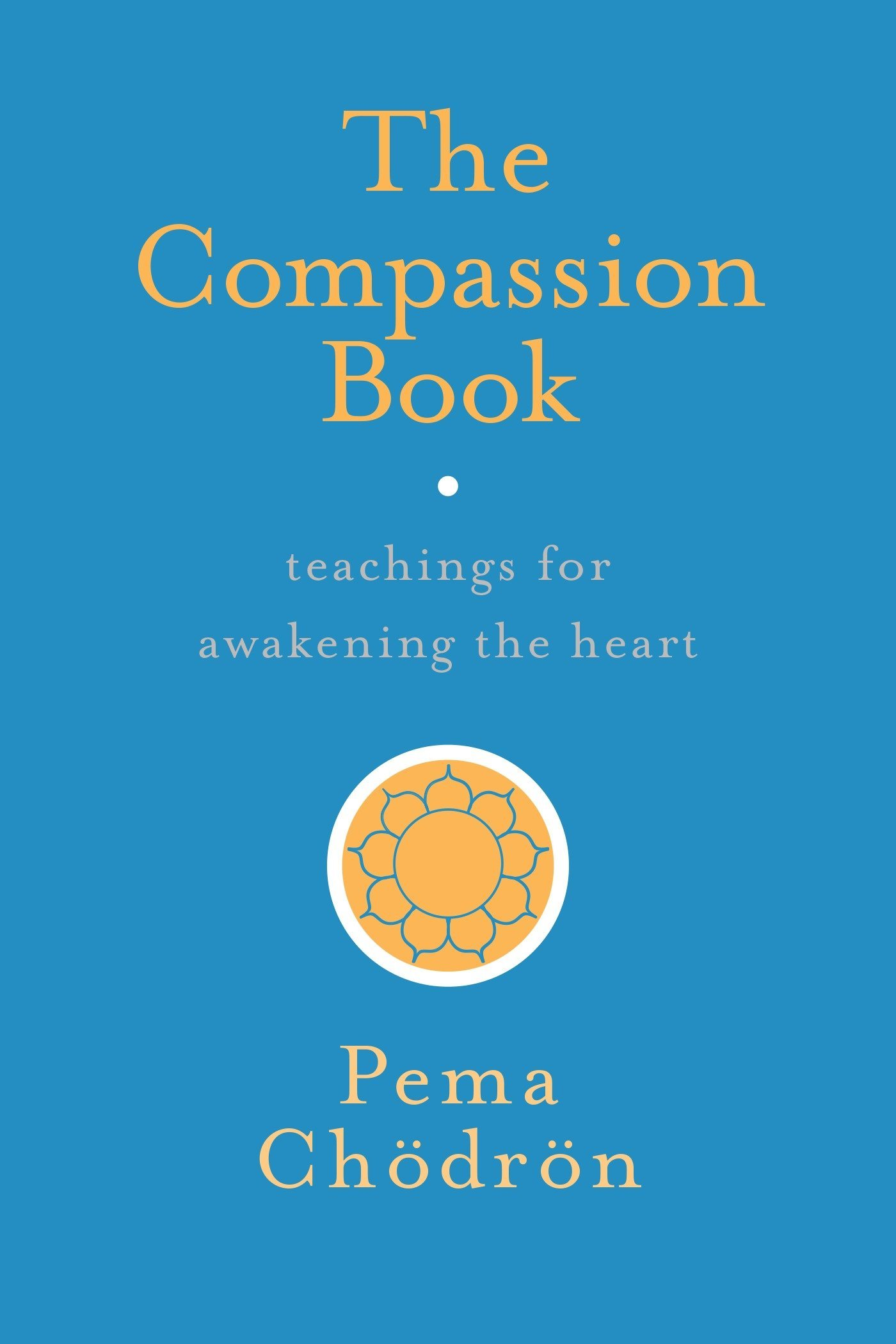Pema Compassion Book cover art
