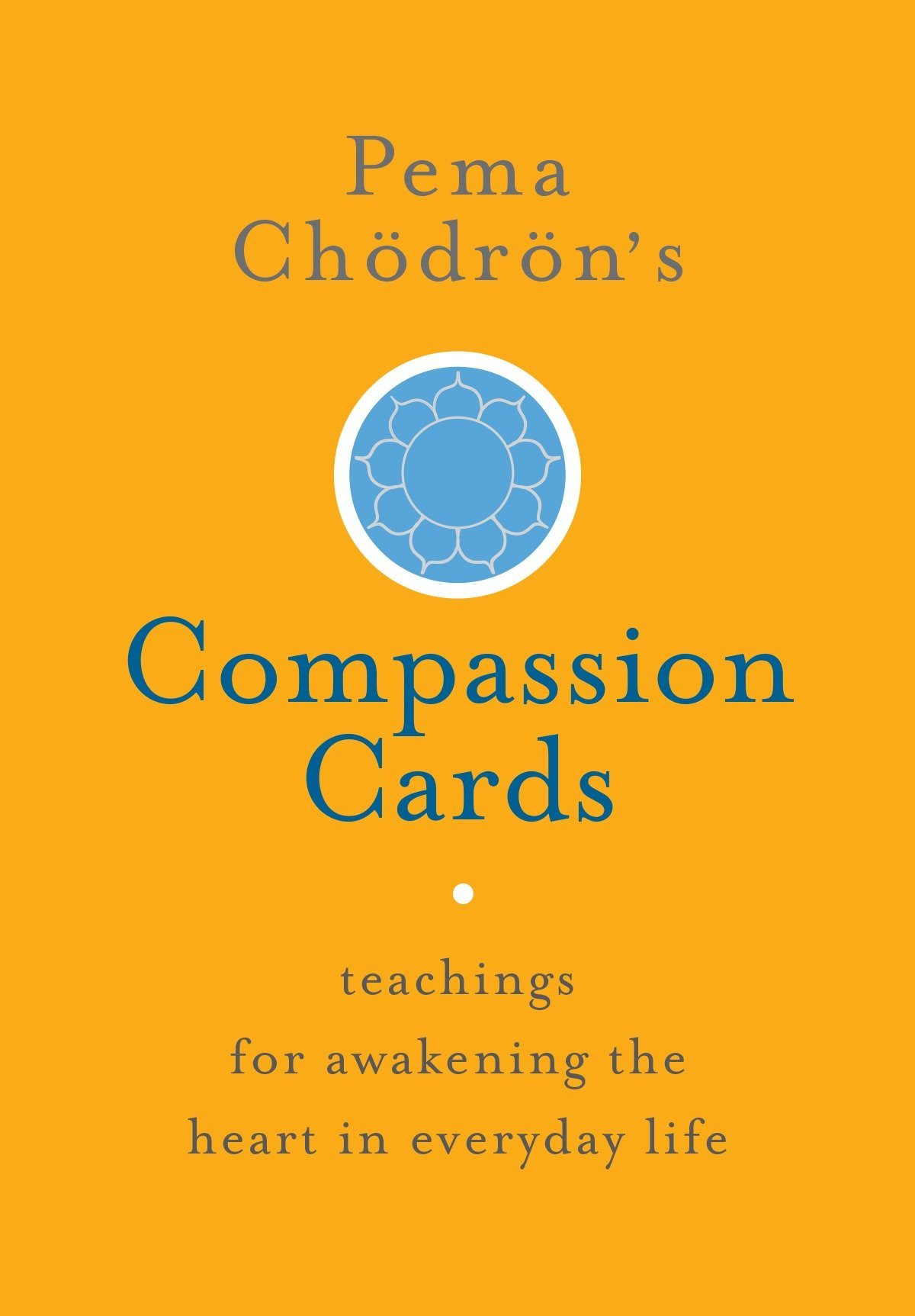 Pema Compassion Cards cover art