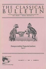 Classical Bulletin cover art