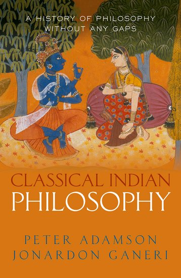 Adamson and Ganeri Classical Indian Philosophy cover art