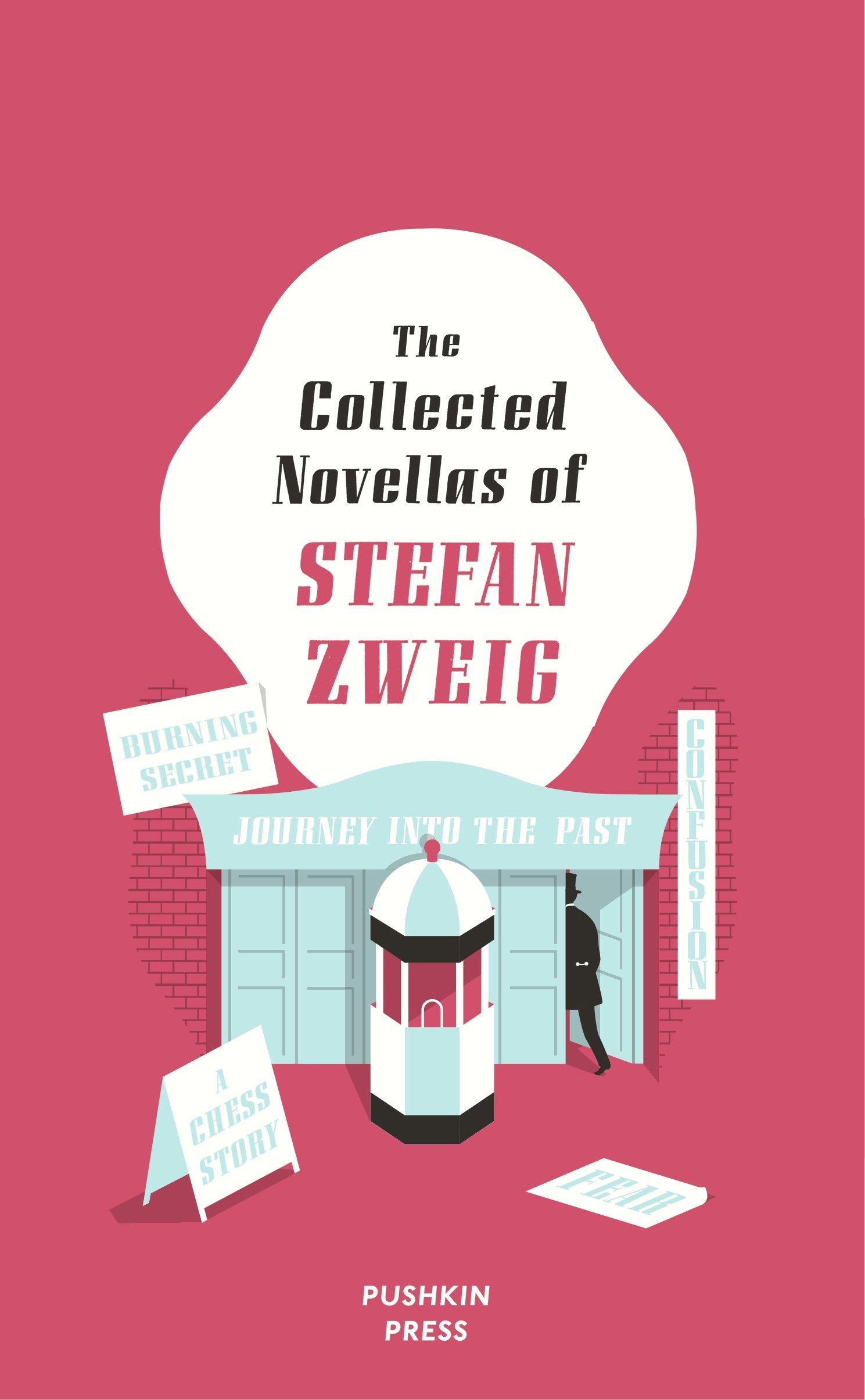 Zweig Novellas Pushkin cover art