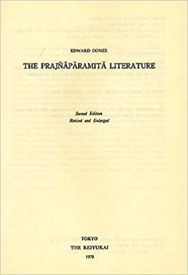 Conze Prajñāpāramitā Literature cover art
