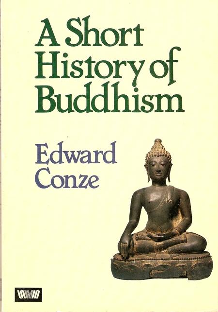 Conze Short History cover art