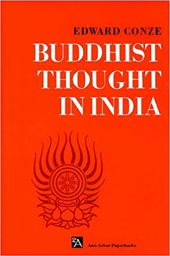 Conze Buddhist Thought cover art