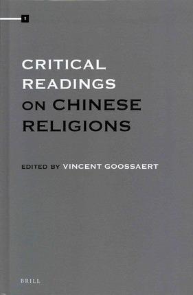 Goossaert Critical Readings cover art