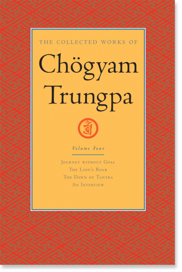 Collected Works of Chögyam Trungpa Volume Four cover art