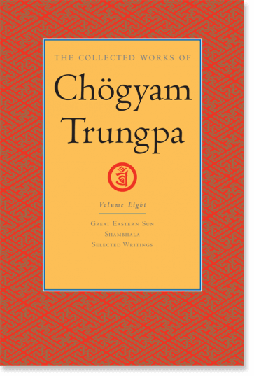 Collected Works of Chögyam Trungpa Volume Eight cover art