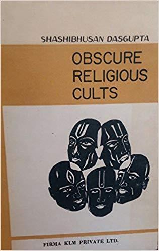 Dasgupta Obscure Religious Cults cover art