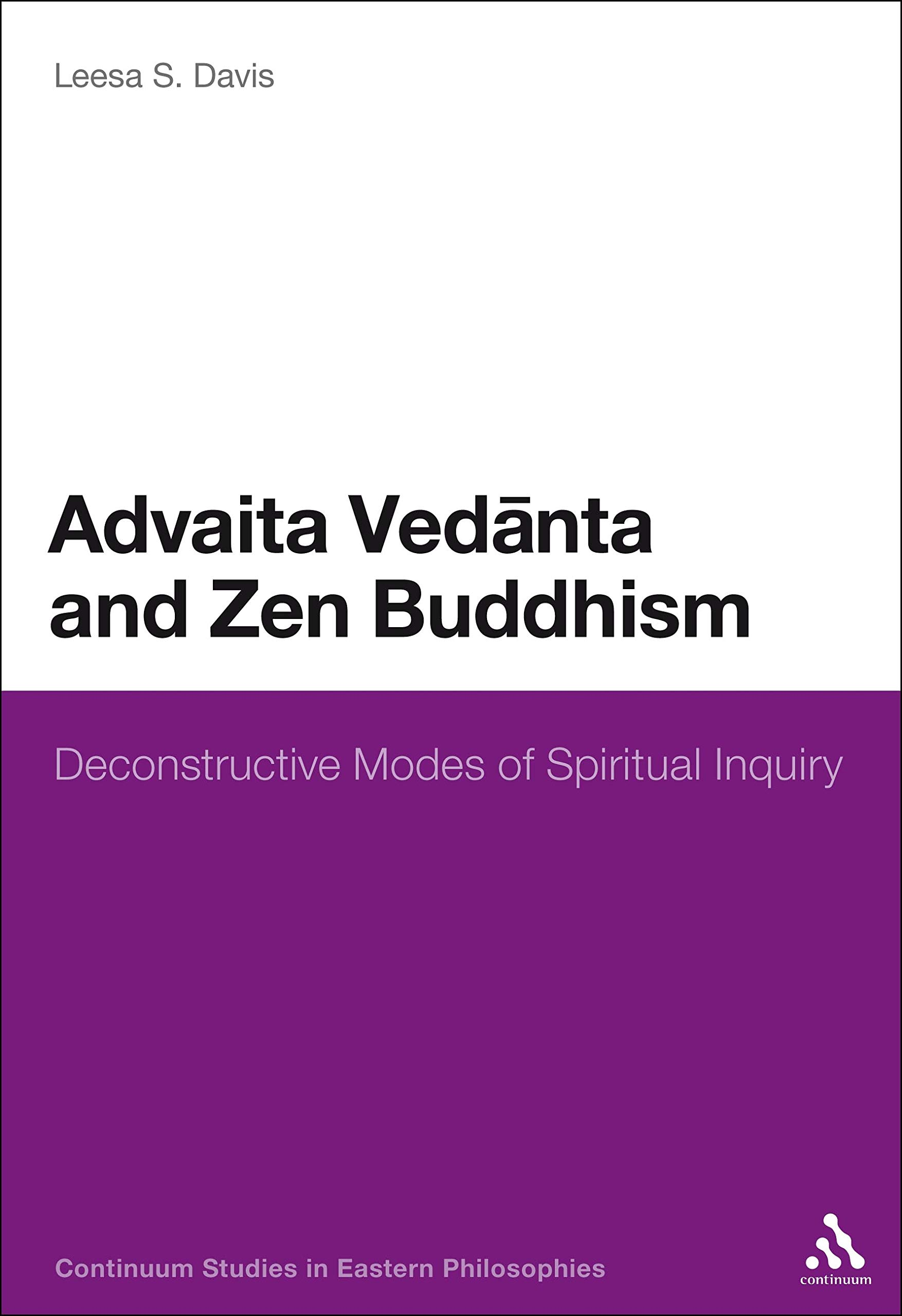 Davis Advaita Vedanta and Zen cover art