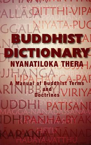 Nyanatiloka Buddhist Dictionary cover art