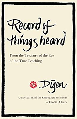 Dogen Record of Things