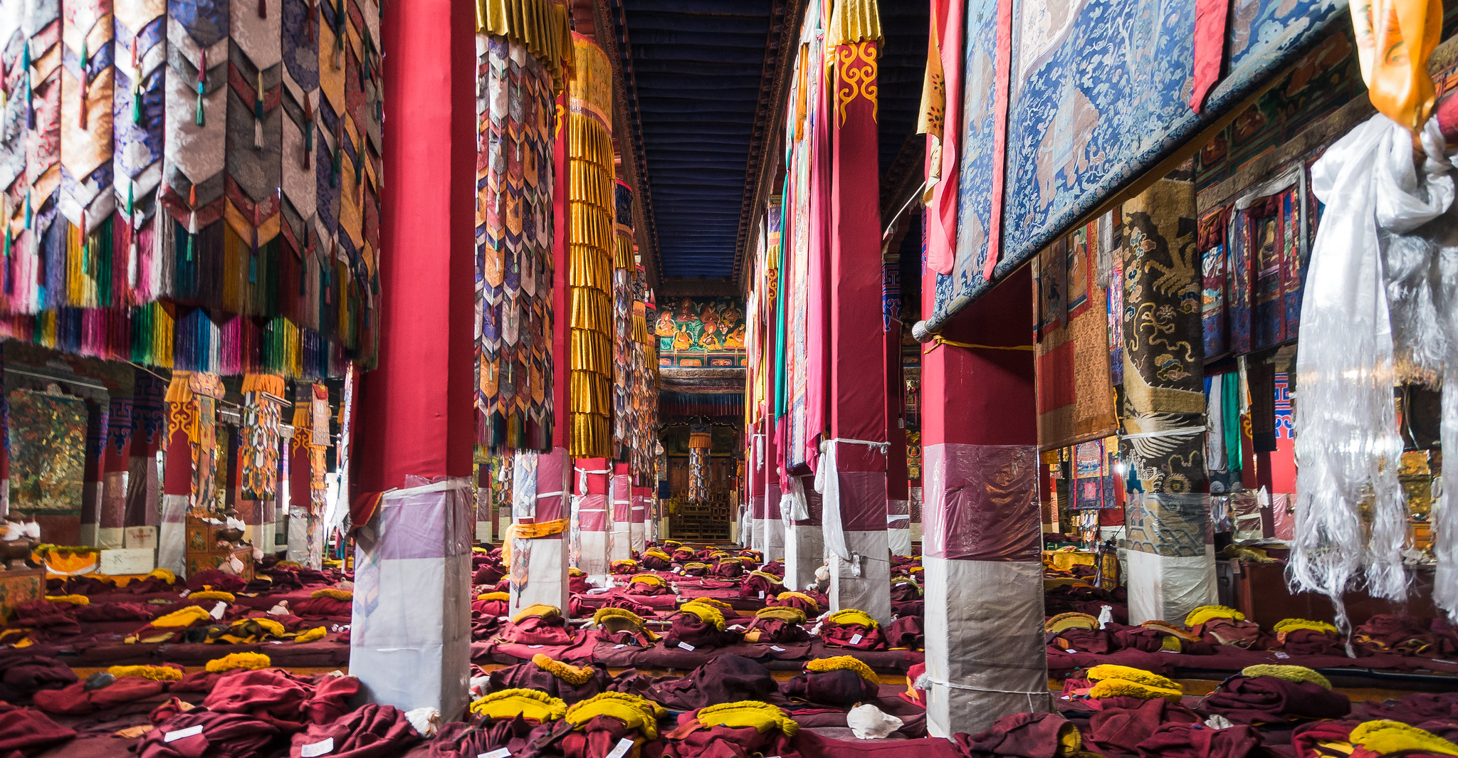 Assembly Hall at Drepung Monastery