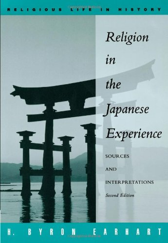 Earhart Religion Japanese Experience cover art