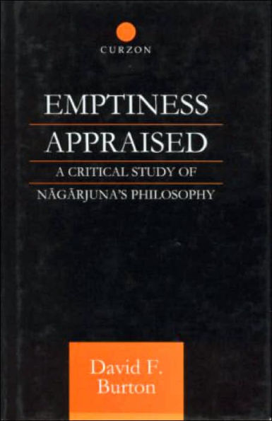 Burton Emptiness Appraised cover art