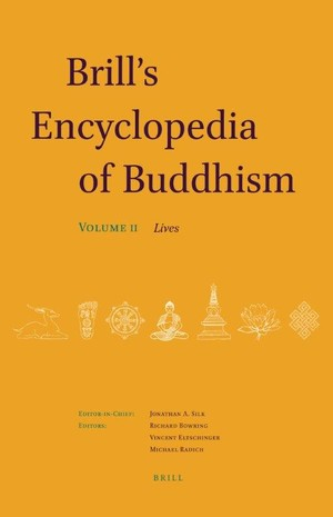 Brill's Encyc of Buddhism Volume Two cover art