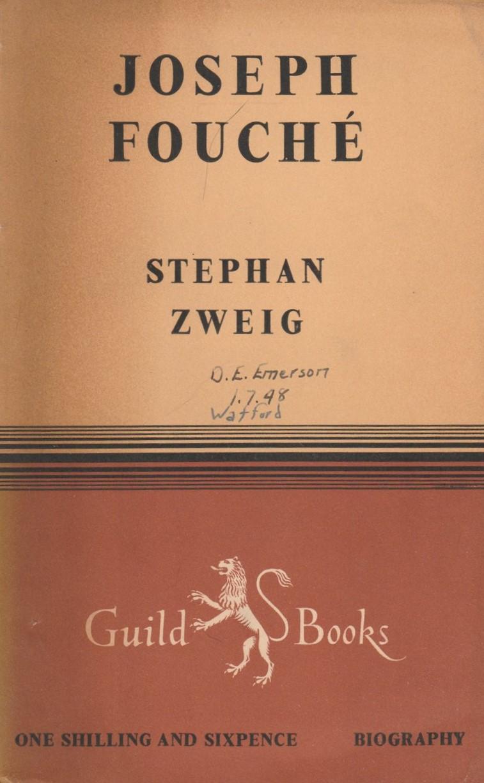 Zweig Fouché cover art