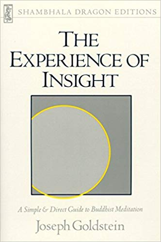 Goldstein Experience of Insight cover art